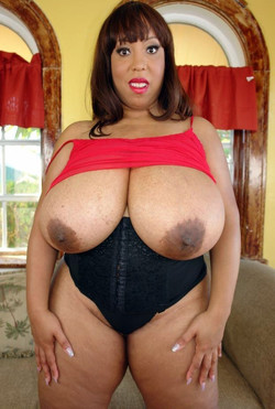Strong black mom, big tits and a great..