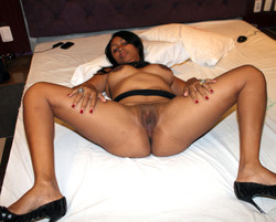 Another big titted african wife in..