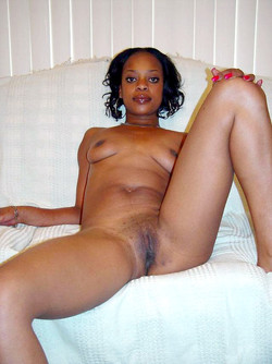 Titted ebony girl with royal boobs