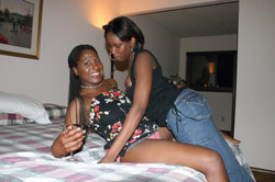 Real ebony wives with big boobs and..