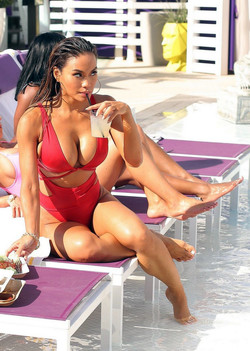 Beautiful ebony goddess Daphne Joy at..